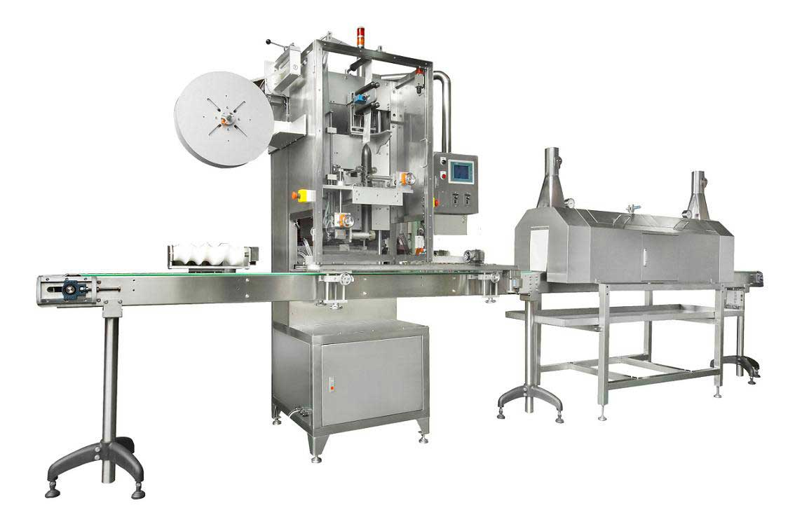 Neck sleeve machine – Neck Shrink Sleeve label applicator machine Manufacturers & Exporters from India