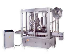 Automatic Rotary Piston Filling & Capping Machine  Manufacturers & Exporters from India
