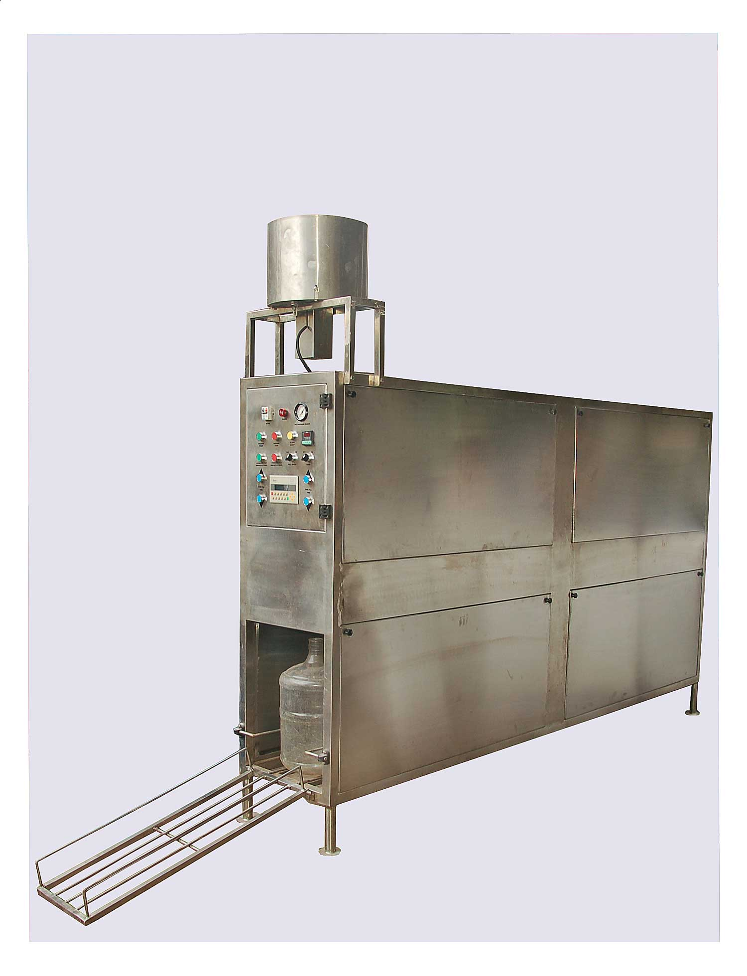 Automatic 20 Liter Jar's Rinsing, Filling And Capping Machine 100-120 JH Manufacturers & Exporters from India