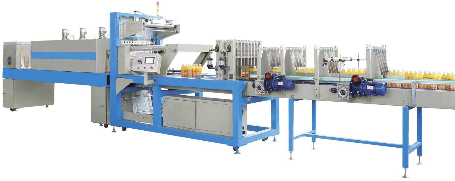 Automatic Shrink Wrapping Machine 100 Bpm