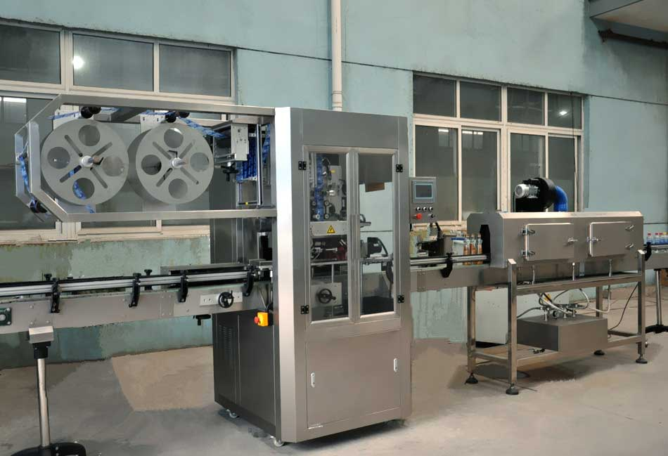 400 High Speed Shrink Sleeve Labeling Machine Manufacturers & Exporters from India