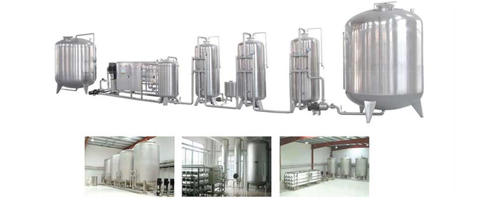 Mineral Water Plant Manufacturers & Exporters from India