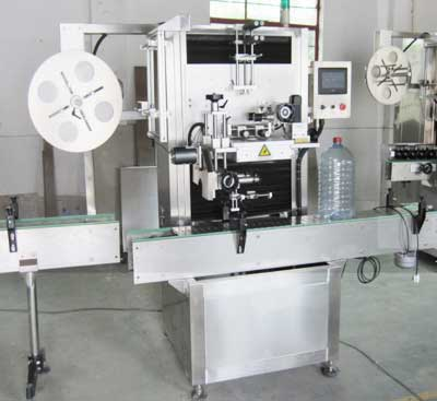 Gallon / Jar / Jerry can Barrel Neck sleeve labeling machine Manufacturers & Exporters from India