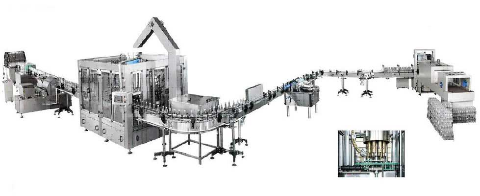 Soft Drink Pet Bottling Machine