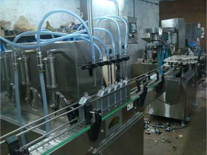 Motor Oil Filling Machine