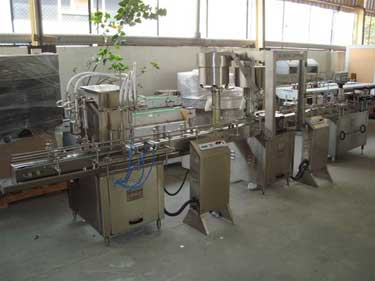 Shampoo Filling Line Manufacturers & Exporters from India